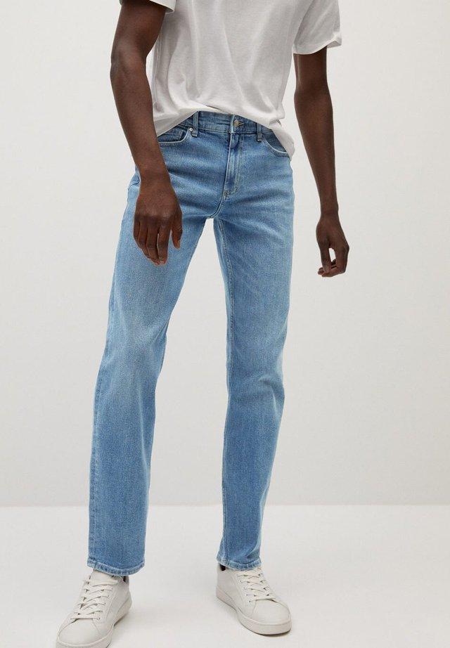 BOB7 - Jeans straight leg - mellemblå