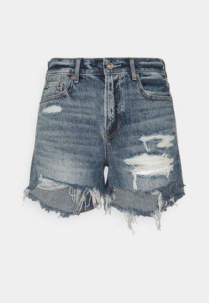 TOMGIRL SHORT - Denim shorts - medium tinted indigo