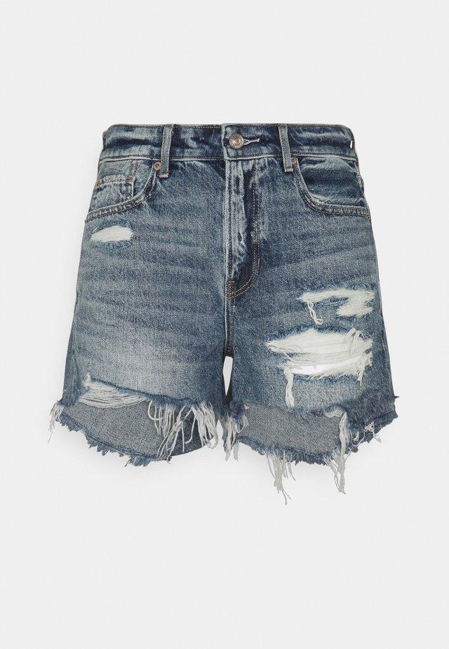 TOMGIRL SHORT - Shorts di jeans - medium tinted indigo