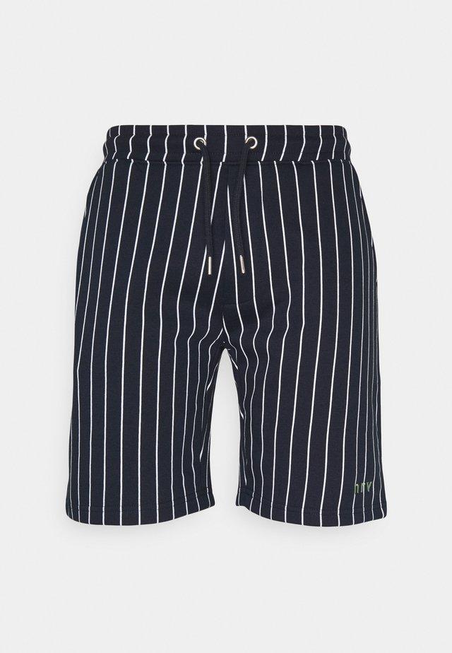 NESAMIR - Pantalones deportivos - navy