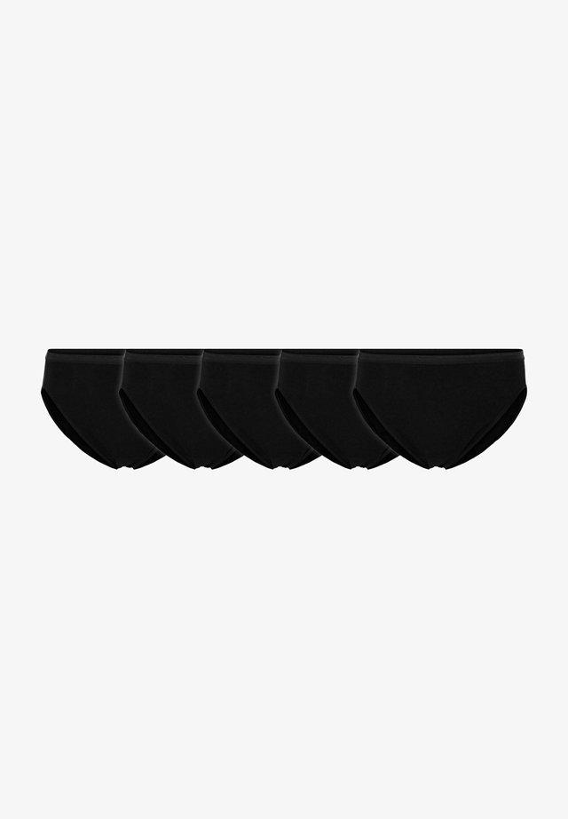 5-PACK - Slip - black