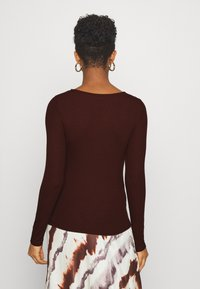 ONLY - ONLMARY - Long sleeved top - bitter chocolate - 2