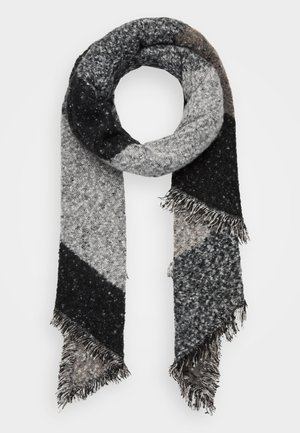Scarf - grey/black
