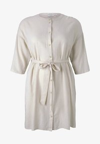 MY TRUE ME TOM TAILOR - STYLE WITH - Shirt dress - ecru shades vichy - 4