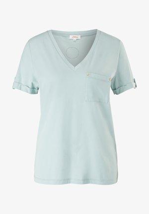 BRUSTTASCHE - Basic T-shirt - light green