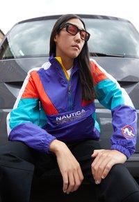 NAUTICA COMPETITION - WHIPSTAFF - Veste coupe-vent - purple - 2