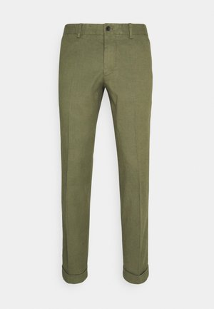 GRANT STRETCH PANTS - Trousers - lake green