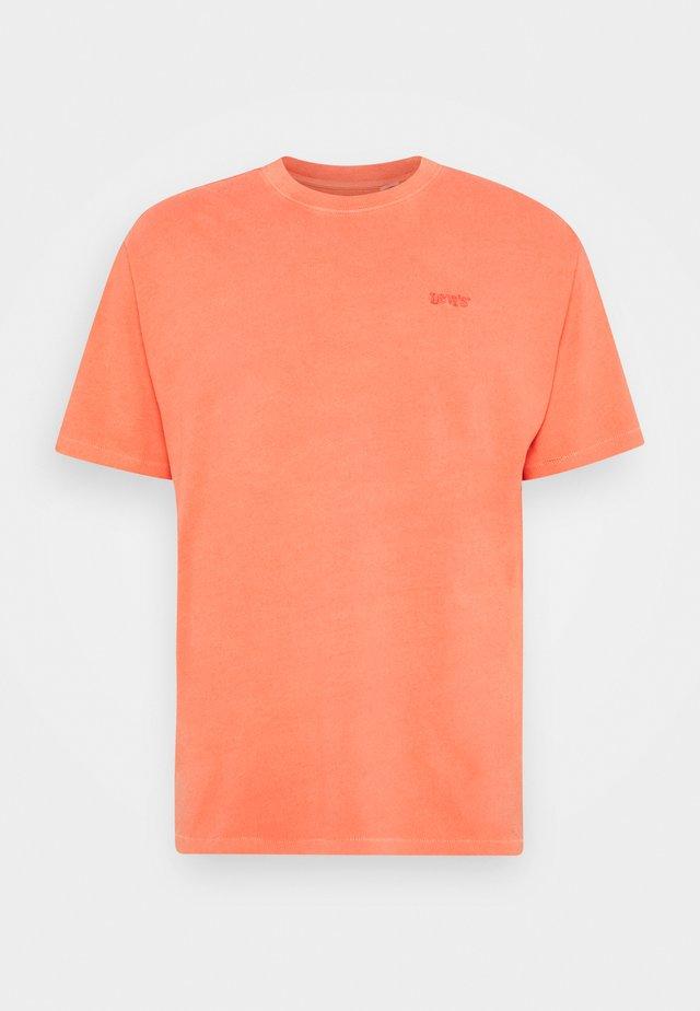 VINTAGE TEE - Basic T-shirt - yellows/oranges