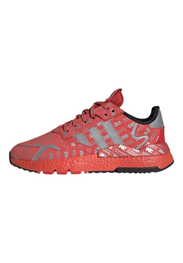 NITE JOGGER SHOES - Sneakers basse - red, silver, red