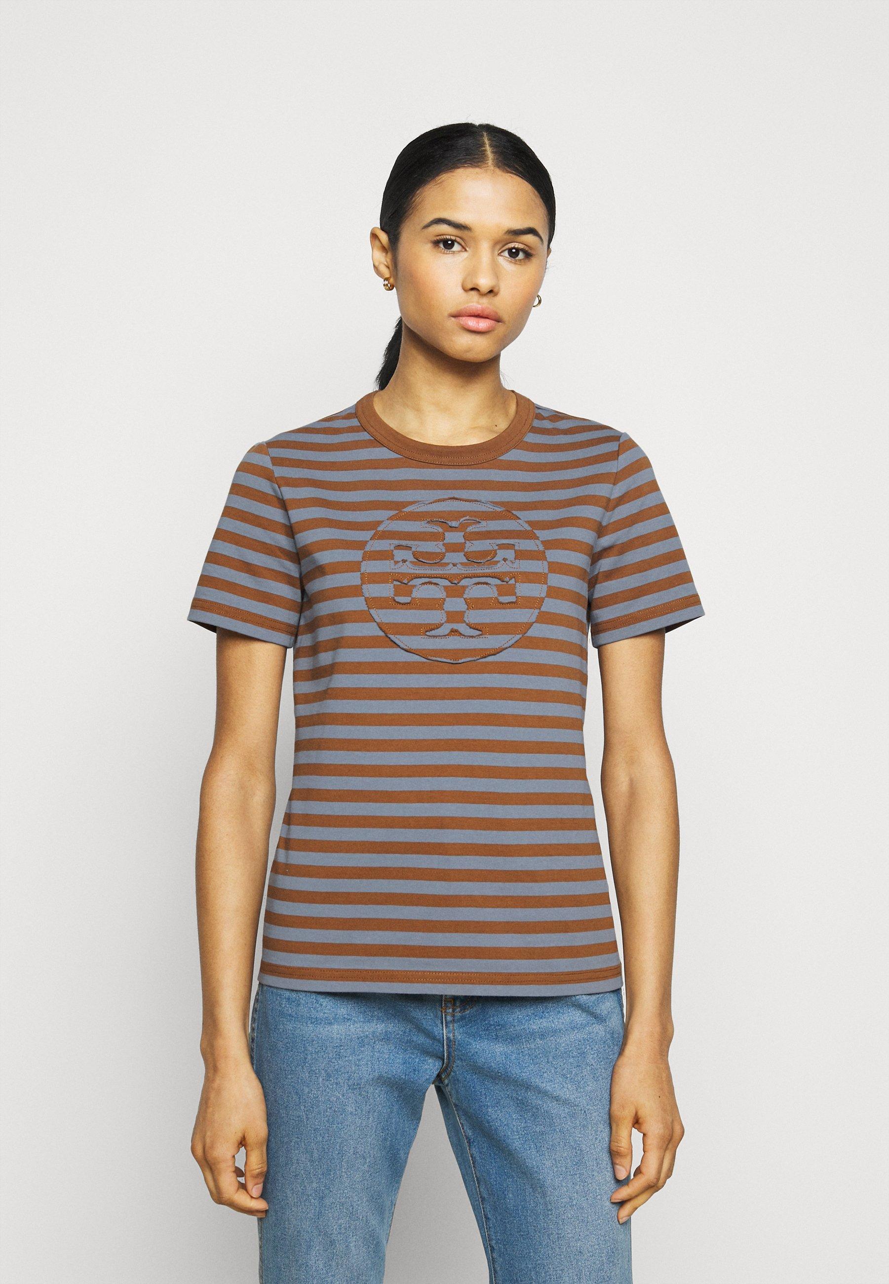 Donna STRIPED LOGO  - T-shirt con stampa