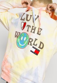 Tommy Jeans - LUV THE WORLD HOODIE UNISEX - Sweatshirt - multi-coloured - 4