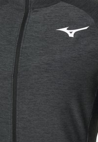 Mizuno - Training jacket - black melange - 2
