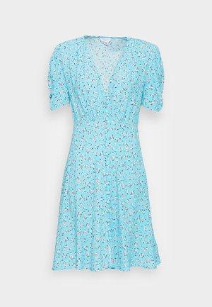 SABRINA DRESS - Shirt dress - scatter blue/lilac
