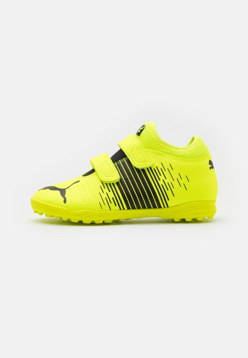 Puma - FUTURE Z 4.1 TT V JR UNISEX - Astro turf trainers - yellow alert/black/white