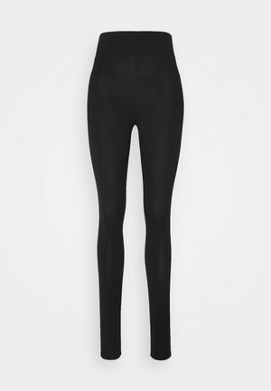 SIDE STRIPE LEGGING - Leggings - Trousers - black