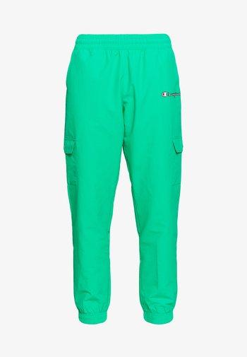 ELASTIC CUFF PANTS - Pantalones deportivos - mint