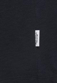 Marc O'Polo DENIM - LONGSLEEVE V NECKDETAIL ON NECKLINE BASIC FIT - Long sleeved top - scandinavian blue - 2
