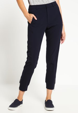 NICA PANTS - Trousers - marine blue