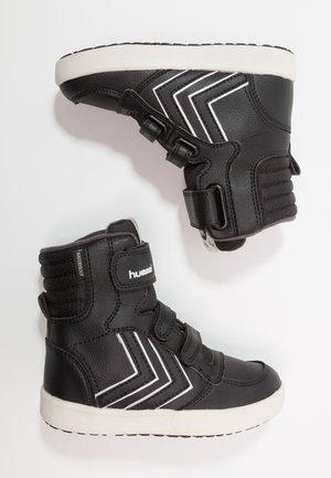 STADIL SUPER - Vysoké tenisky - black
