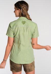 Spieth & Wensky - NEST - Button-down blouse - olive - 1