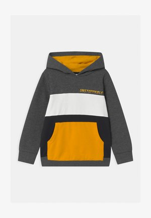NMMOMALLEY BOX - Sweatshirts - dark grey melange