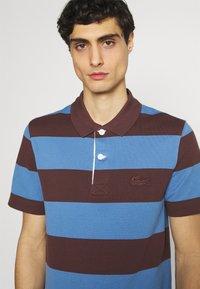 Lacoste - Polo shirt - penumbra/turquin blue - 3