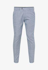 WE Fashion - MIT HAHNENTRITTM - Pantalon - blue - 5