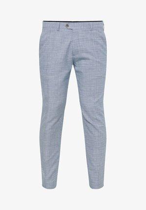 MIT HAHNENTRITTM - Pantaloni eleganti - blue