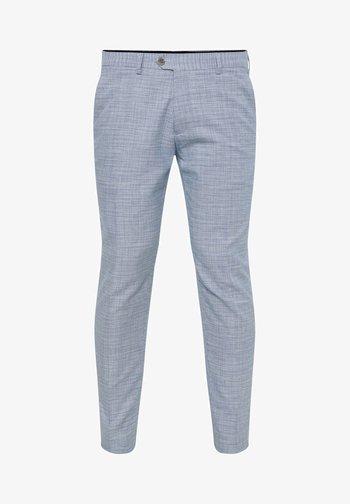 MIT HAHNENTRITTM - Oblekové kalhoty - blue