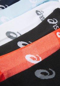 ASICS - INVISIBLE SOCK 6 PACK UNISEX - Sportsocken - white/black/grey/peacoat/smoke blue/marigold - 1