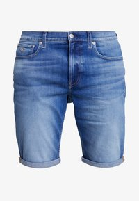 Calvin Klein Jeans - REGULAR - Szorty jeansowe - bright mid - 4
