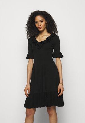 DRIBBLING ABITO - Pletené šaty - black
