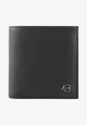 PIQUADRO BLACK SQUARE GELDBÖRSE RFID LEDER 12 CM - Wallet - black
