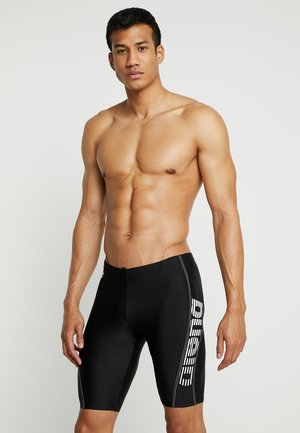 BYOR EVO JAMMER - Swimming trunks - black/white