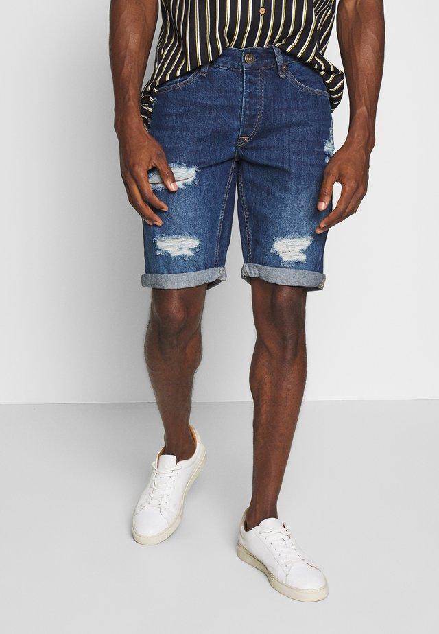 HARROW - Szorty jeansowe - dark blue