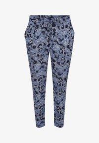 Kaffe Curve - Trousers - blue paisley print - 4