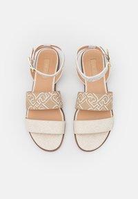 Liu Jo Jeans - ERIN  - Sandals - white/milk - 5
