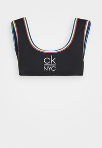 Calvin Klein Swimwear - PRIDE EDIT BRALETTE - Bikini top - black - 4