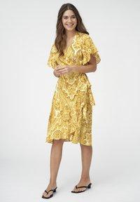 Dea Kudibal - AUDREY - Day dress - paisley yellow - 1