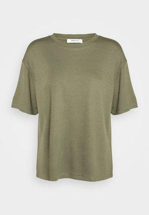SAMINE - Basic T-shirt - kalamata