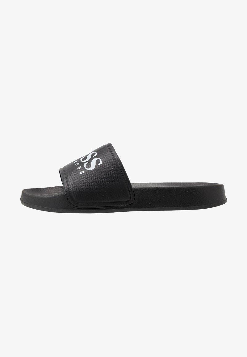 BOSS Kidswear - SLIDE - Matalakantaiset pistokkaat - black