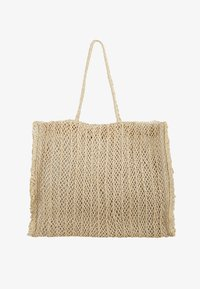CARRIED AWAY CROCHET BAG - Tote bag - natural