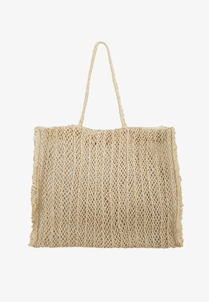 CARRIED AWAY CROCHET BAG - Torba na zakupy - natural