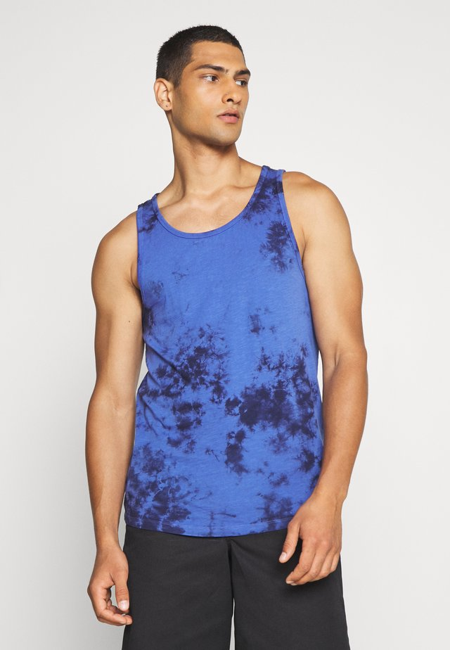 DYE TAN - Print T-shirt - bright blue