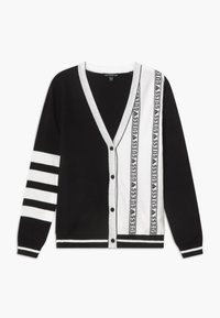 Guess - JUNIOR - Kardigan - black/white - 0