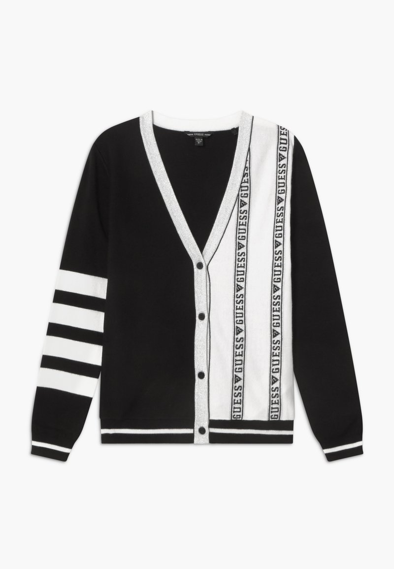 Guess - JUNIOR - Kardigan - black/white