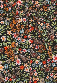 Name it - NKFVINAYA WIDE PANT - Kalhoty - vibrant orange - 2