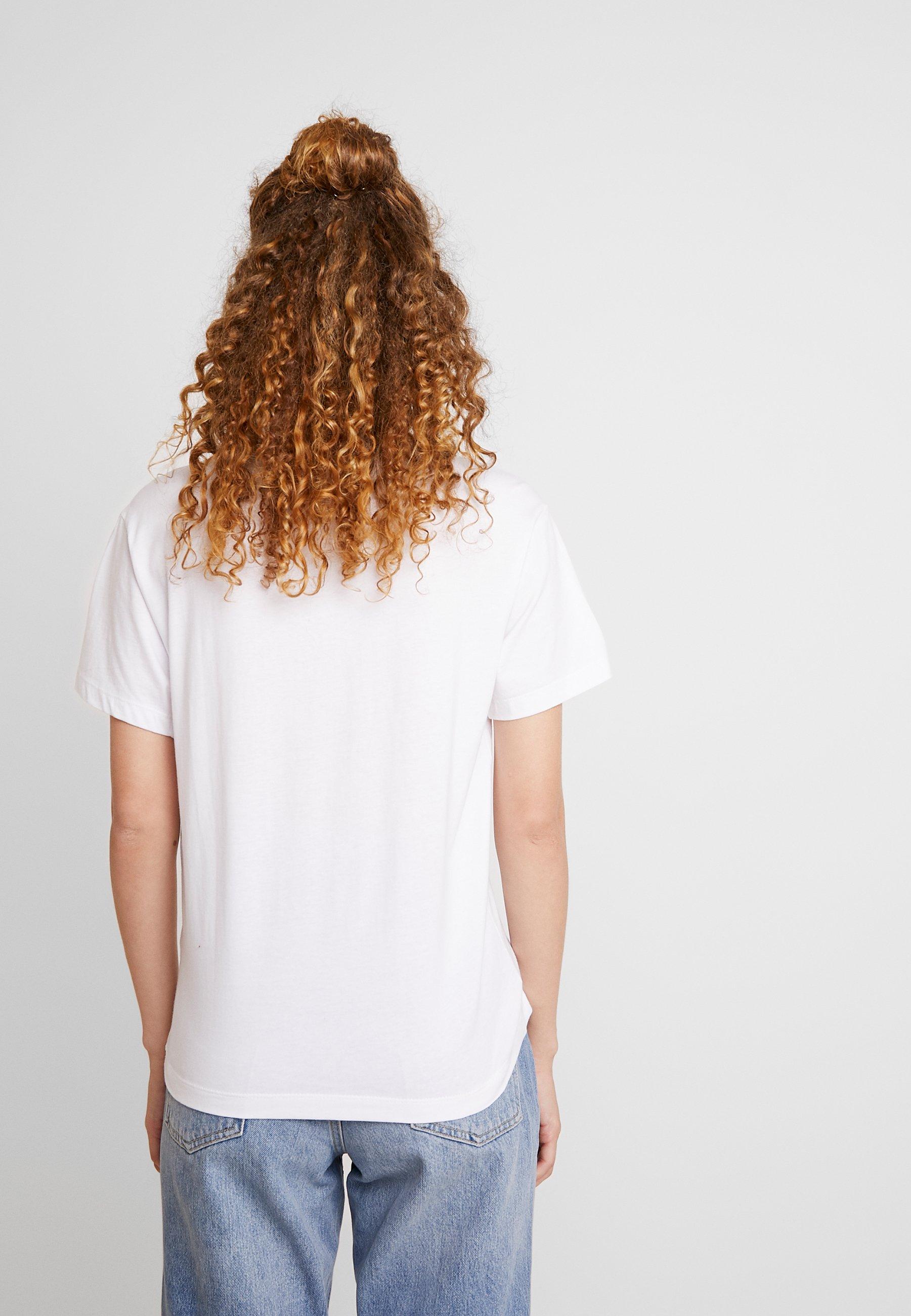 Fila Eara Tee - T-shirts Bright White/hvit