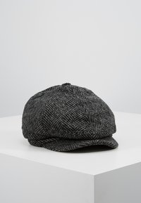 Burton Menswear London - HERRINGBONE BAKER - Beanie - grey - 0