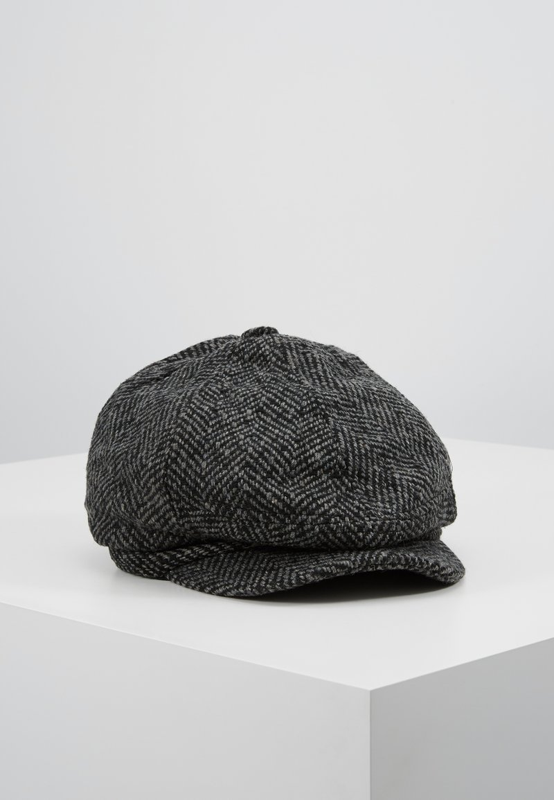 Burton Menswear London - HERRINGBONE BAKER - Beanie - grey